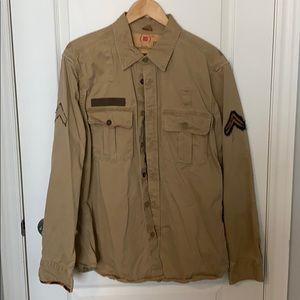 Gap RED military shirt / jacket